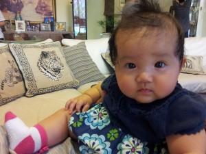 Hannah, July 2012